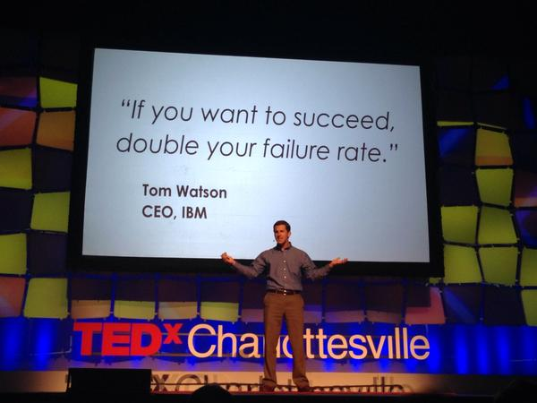 Jim Harshaw TEDx speaker Charlottesville